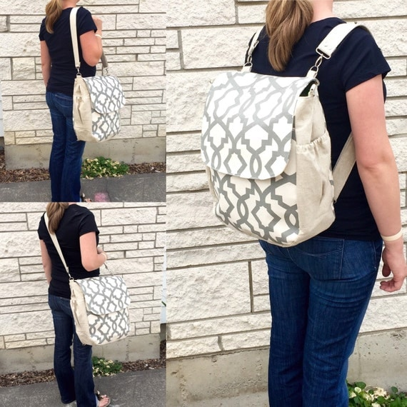 customizable diaper bag backpack rounded bottom by daintybean. Black Bedroom Furniture Sets. Home Design Ideas