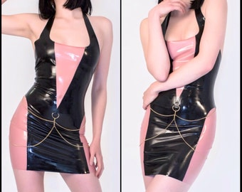 The NOIR Collection - Latex Mini Dress