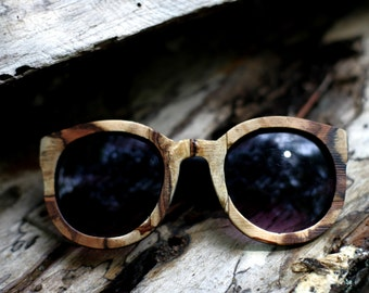 Lady Tiger Spalted Oak Women's Sunglasses