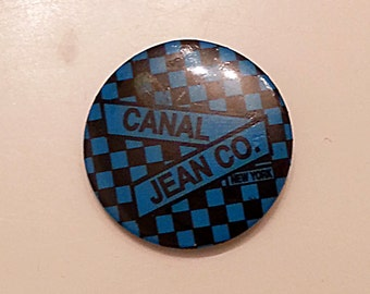 Vintage Canal Jean Co. buttons Late 80's-90's