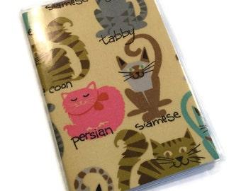 SALE Passport Cover Feline Friends
