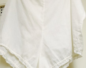 Ladies undies old-fashioned bloomers cotton blend