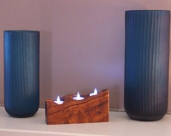 Koa Three Candle/Tea Light Holder
