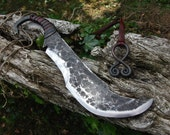 Hand Forged Orc Long Knife made to order
