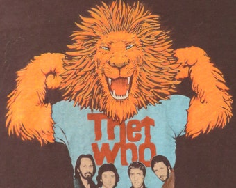 THE WHO 1979 tour T SHIRT