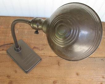 Vintage Paulding Gooseneck Desk Lamp