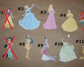 Disney Princess Die Cut Cardstock (Disney Licensed)