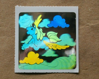 Decal Specialties Holographic Pegasus Sticker