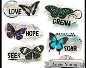 Altered Art Mats #7 - Digital Art Supplies By Angie Young