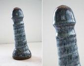 High fire fine art ceramic dildo 1012