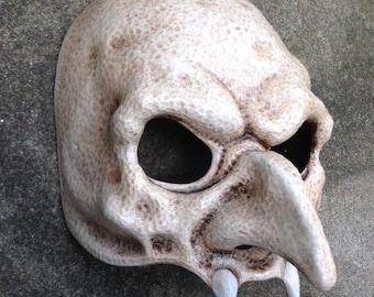 White Nosferatu Vampire Mask