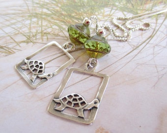 Turtles-Sterling Silver Threaders-Color Choice