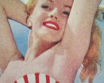 December 1952 Focus Magazine with Marilyn Monroe on the Cover. G-334.