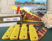 Comb Folding Comb Chincoteague Souvenir Pocket Comb NOS