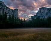 Sunrise in Yosemite Valley, Limited Edition Photography Print