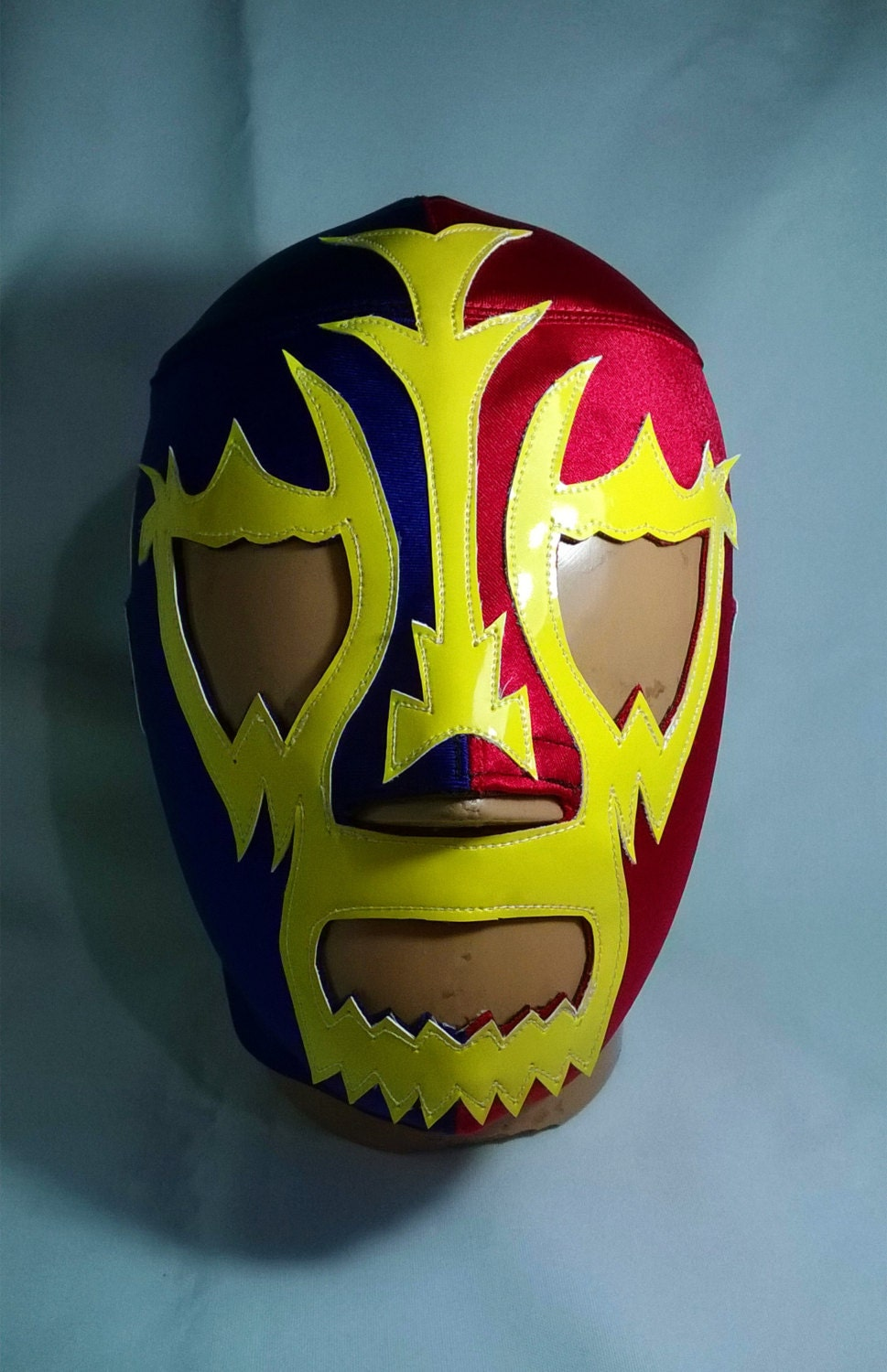 Day of The Dead Style Luchador Olmeca Style Mask Day