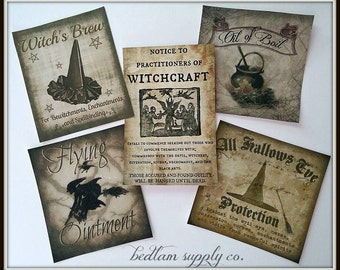 Witches, Everywhere - Halloween Sticker Assortment