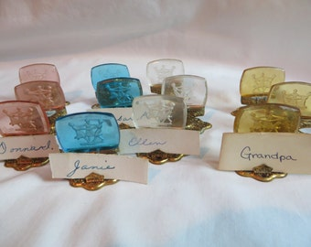 12 Vintage  Place Markers