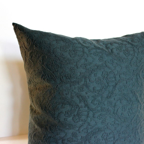 Charcoal Grey Textured Tone On Tone Neutral Accent Throw