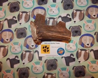 "Organic Jumbo Elk Antler Dog Chew ""Made in Montana"" (Lot A1)"