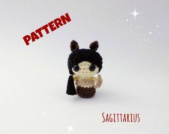 Crochet Amigurumi Sagittarius Doll Pattern
