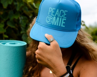 Peace Omie Hat - Turquoise