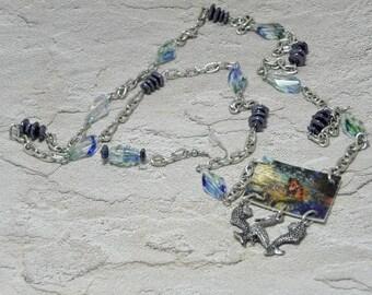 Caribbean Mermaid Necklace Set