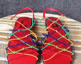 Vintage Laguna sandals W 7.5