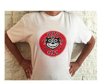 Hep Cat Silk-screened T-shirt