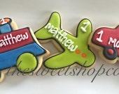 Transportation  Cookies 2 dozen
