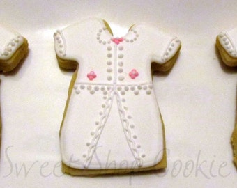 Christening Gown cookies 2 dozen