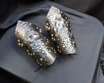 DragonClaw Bracers in Your Choice of Colors