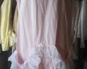 Prärie Mädchen Tasche Kleid Alabaster und Spitze