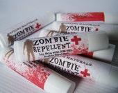 Zombie Repellent Lip Balm - chocolate caramel flavor
