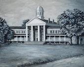 Fine Art Print- Judson Female Institute, Vintage Judson College, Marion, Alabama