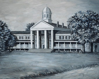 Fine Art Print- Judson Female Institute, Vintage Judson College, Marion, Alabama