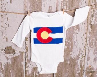 Colorado shirt or bodysuit size newborn to 6 toddler