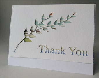 Thank You - Leaf Pop-out