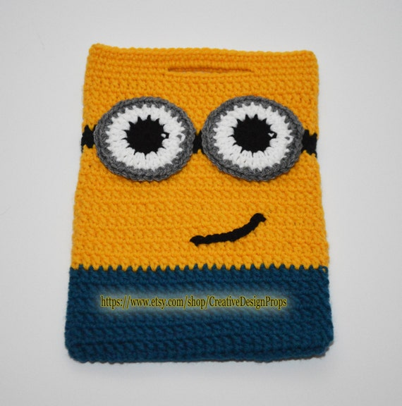 Crochet Minion Bag Minions handbag Halloween Candy Tote