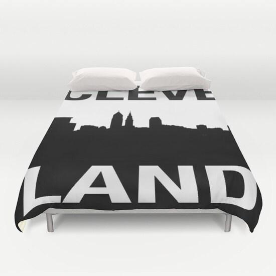 housse de couette cleveland horizon graphique cle. Black Bedroom Furniture Sets. Home Design Ideas