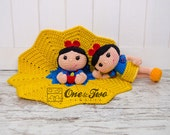 Combo Pack - Snow White Lovey and Amigurumi Set for 5.99 Dollars - PDF Crochet Pattern - Instant Download - Special Offer Pack
