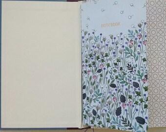 Personal Organizer, Notebook, Blue Book, Travel Planner, Dori Notebook, Doodle Book, Artist Book, Calendar Organizer, Refillable Planner