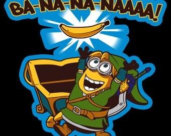 Ba-na-na-naaa! Legend of Zelda Link Minion Crossover Sticker