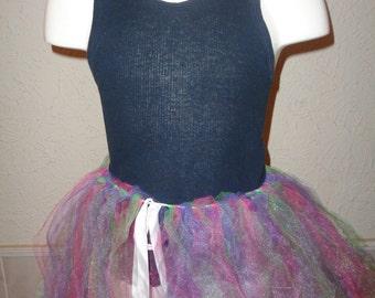Toddler Multicolored Tutu Skirt