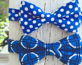 Royal Blue Bow Tie, royal blue wedding, Blue Bow ties, boys blue tie, mens blue bowtie, infant boy photo prop