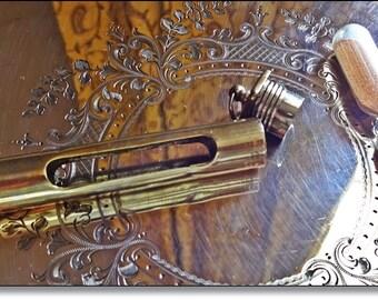 Medical Instrument, 1880's, Hospitla Instrument, Vintage Medical  1/2 Minute Pulse Glass Timer Victorian Circa 1880-1900