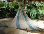 Hammocks! Adult sized cotton hand woven hammock from Guatemala.  Mayan made banana hammocks 16
