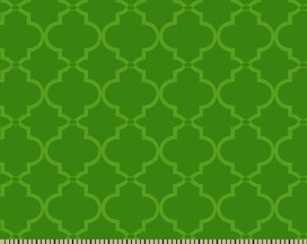 06316 -  Springs Creative Products Quilting Basics Lattice in Green - 1 yard