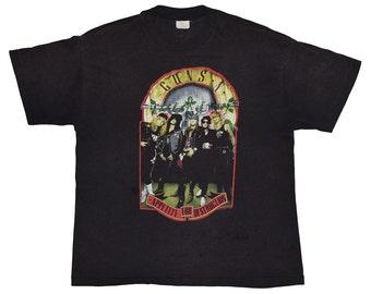 Guns N Roses Shirt Original 1989 Vintage Extra Large 89 Appetite For Destruction  80s Rock