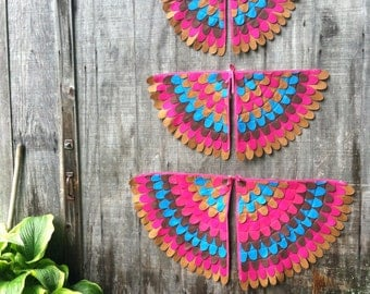 Magical Creature Wings, Costume Wings owl / chicken / bird, Eco Friendly
